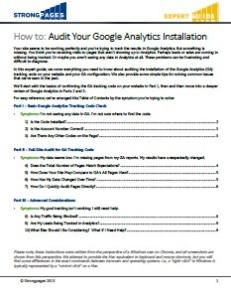 IMG Audit Your Google Analytics